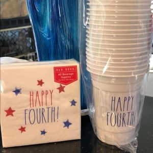 Rae Dunn Happy Fourth Party Supplies